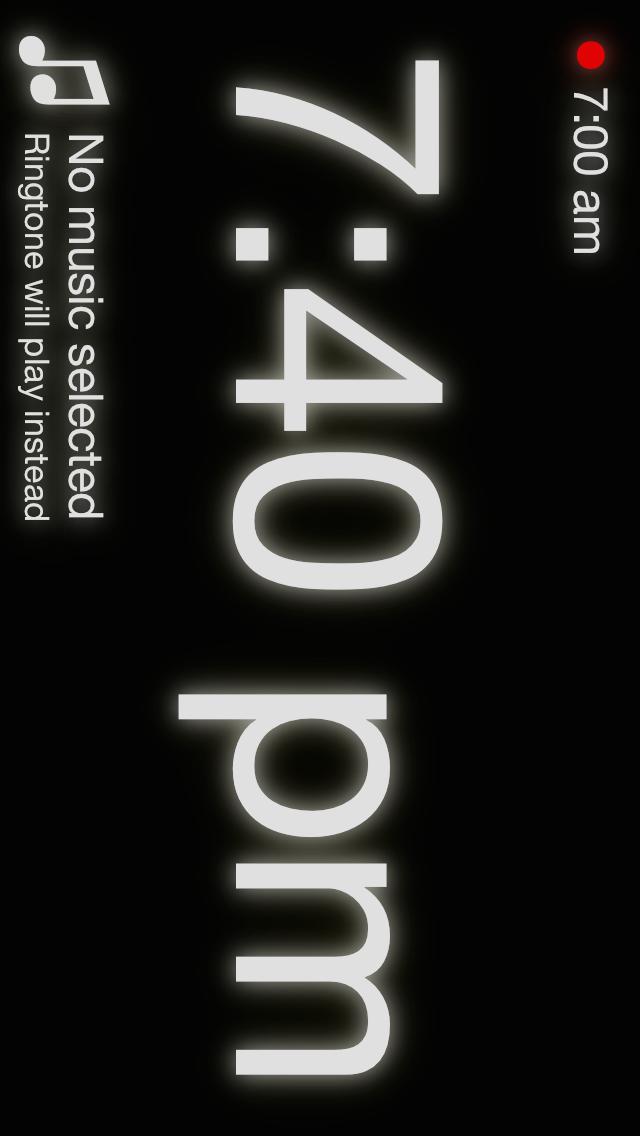 Mathe Alarm Clock – Black Edition - iphone1