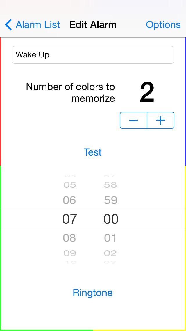 Memory Alarm Clock - iphone1