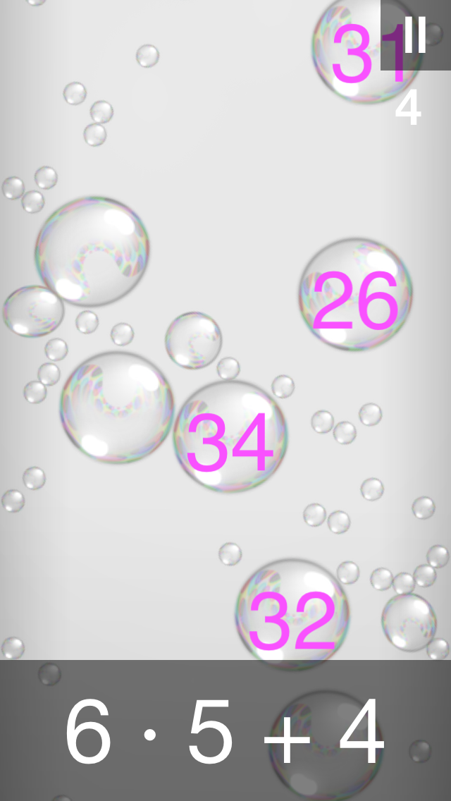 Bubble Stream – Math Edition - iphone1